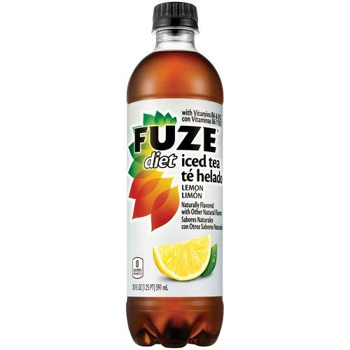 Fuze Diet Lemon Iced Tea 20oz