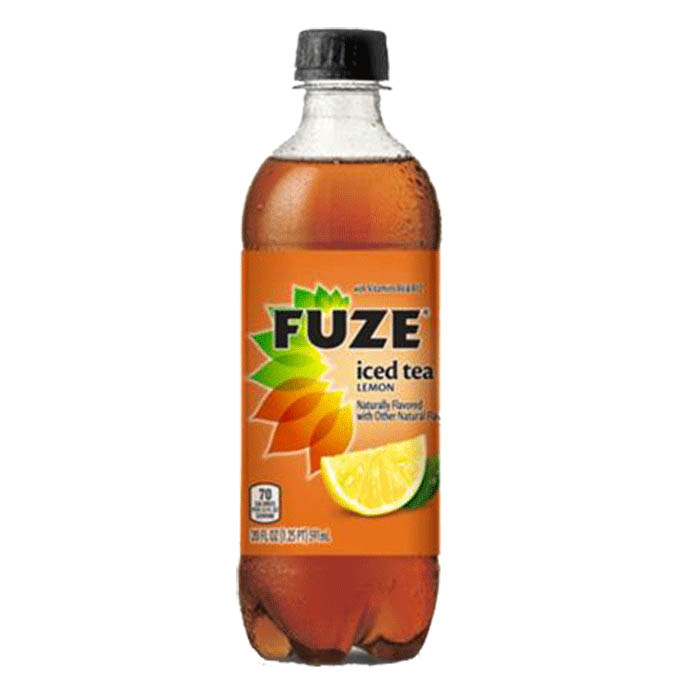 Fuze Lemon Iced Tea 20oz